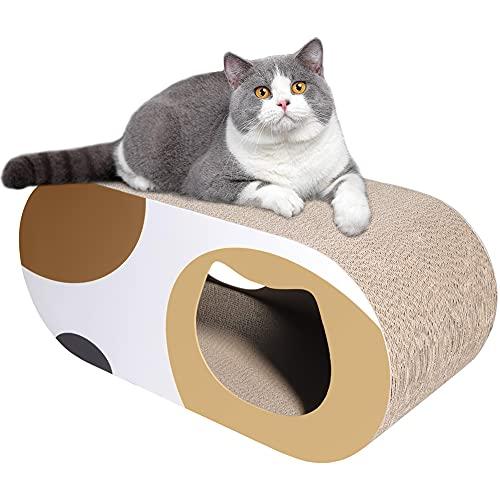 猫 爪とぎ 猫 つめとぎ 段ボール猫ハウス 爪研ぎ つめとぎ ねこ 猫 トンネル 猫ベッド 高密度 耐久 爪磨き 家具破壊防止 運動不足改善 ストレス解消 猫 おもちゃ