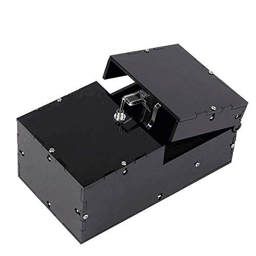 Bujingyun Komplett zusammengebaute nutzlose Schachtel Lass Mich allein Maschine für Geburtstags- und Partygeschenkspielzeugspiel (schwarz)