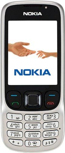 Nokia 6303i Handy (Kamera mit 3,2 MP, MP3, Bluetooth) classic steel