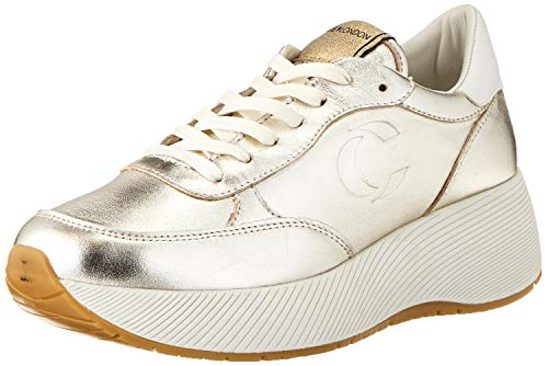 Crime London Damen BOTOX Sneaker, Platinum, 36 EU