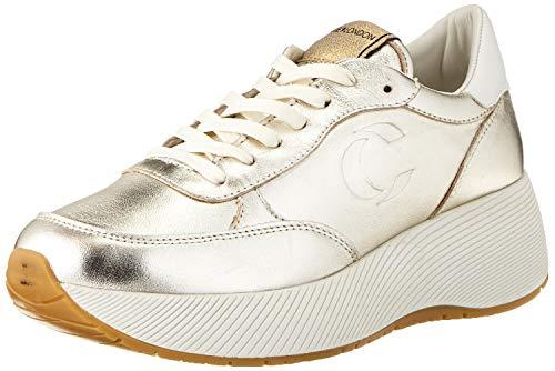 Crime London Damen BOTOX Sneaker, Platinum, 40 EU
