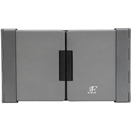 浅沼商会 3E-BKY7-BG 3E Bluetooth Keyboard 【TENPLUS】 3つ折りタイプ ブラック×グレー ケース付属