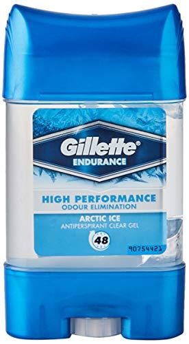 Gillette Clear Gel Antitranspirante Y Desodorante Artic Ice Para Hombre, 70 Ml