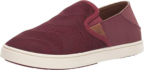 OluKai Pehuea - Women's Casual Shoes Red Ginger/Rose Wood - 9.5