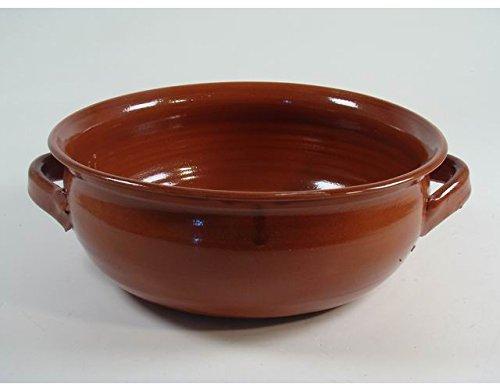 Accessoires voor keuken Bombata pan van terracotta met 2 handgrepen, 28 cm