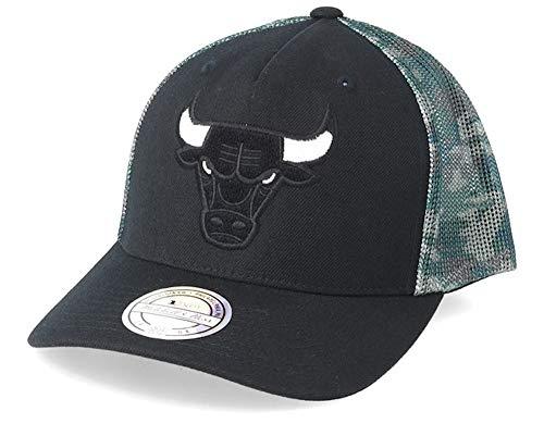 Mitchell & Ness Snapback Cap Squad Camo Chicago Bulls Black