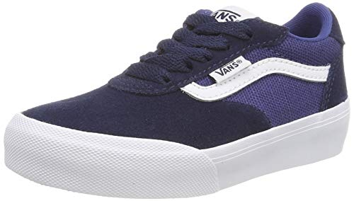 Vans Jungen Palomar Sneaker, Blau (Suede/Canvas) Dress Blues/Navy Vg6), 33/34 EU