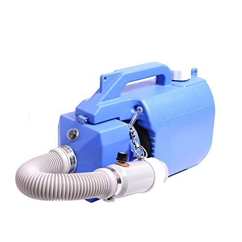 OKVEQUIP Portable Disinfectant Fogger Machine, 5L/1.32GAL Electric ULV Fogger/Garden Sprayer/Atomizer, 110V Backpack Aerosol Sanitizer Fogger with 5M Cord Adjustable Particle Size 10-150μm/Mm