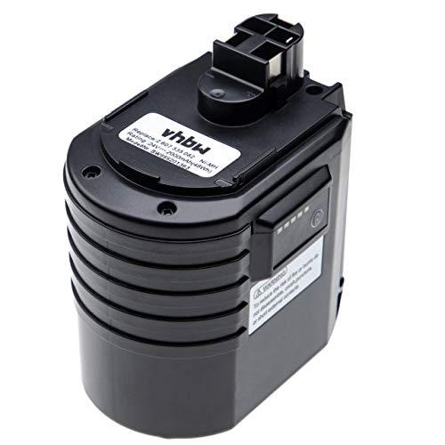 vhbw batería compatible con Würth ABH 20, ABH 20-SLE herramienta eléctrica (2000mAh,...