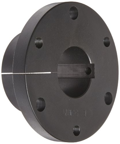 Martin E 65MM Quick Disconnect Bushing, Class 30 Gray Cast Iron, Metric, 65 mm Bore, 97.38 mm OD, 66.67 mm Length