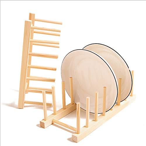 Wooden Plate Rack,Dish Drainer,Cup Holder,Bookshelf,Dish Rack,Display Drainer Holder