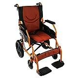 ADAPTABLE: para garantizar la comodidad, la silla de ruedas modelo Pirámide con asiento de 46 cm tiene reposapiés desmontables y giratorios ULTRA LIGERA: silla de ruedas de aluminio por lo que su peso es muy reducido, ideal para aquellos que no puede...