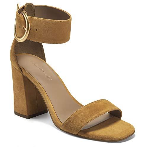 Aerosoles Women's Landon Heeled Sandal, TAN SUEDE, 9