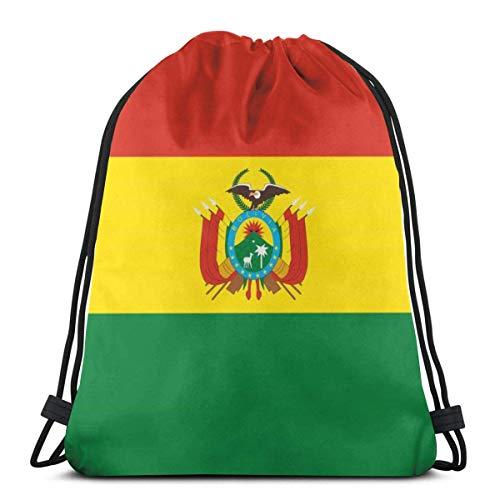 Mochila con cordón Mochila Bolivia Bandera Mochila con cordón con Estampado 3D Mochila Mochilas Bolsas de Hombro Bolsa de Gimnasio