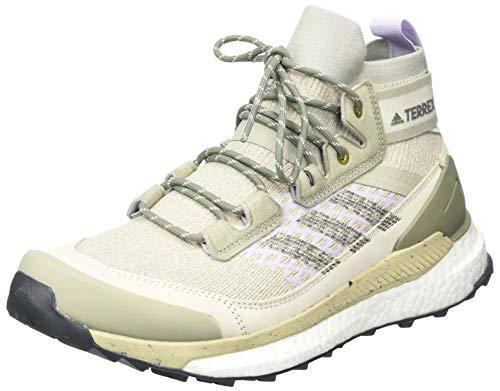 adidas Terrex Free Hiker Blue-ef6588, Chaussure de Marche Femme, FEAGRY/LEGGRN/PRPTNT, 43 1/3 EU