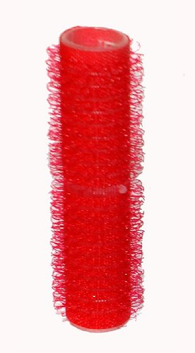Hair Tools Cling Hair Rollers - Small Red 13 mm x 12