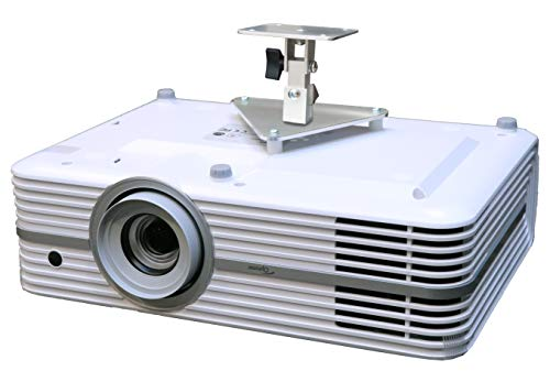 PCMD, LLC. Projector Ceiling Mount Compatible with Optoma UHD30 UHD380X UHD42 UHD50X UHD52ALV (5-Inch Extension)