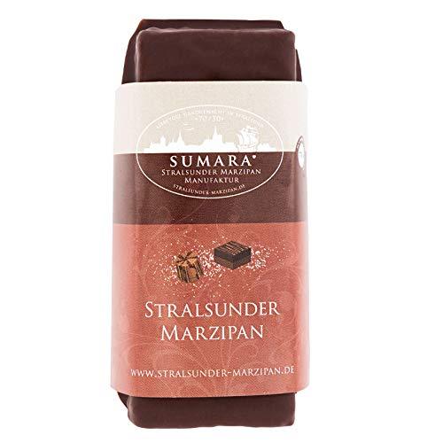 Marzipan-Nougat-Block mit Zartbitterschokolade 110g