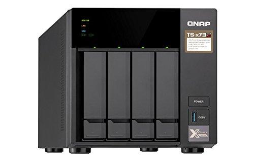 QNAP TS-473-4G Desktop NAS Gehäuse mit 4 GB DDR4, Powerful 4-Bay Storage Server
