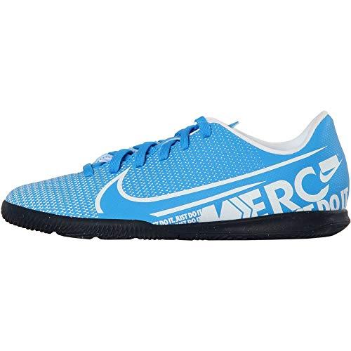 Nike Unisex-Kinder Vapor 13 Club IC Fußballschuhe, Mehrfarbig (Blue Hero/White/Obsidian 414), 35.5 EU