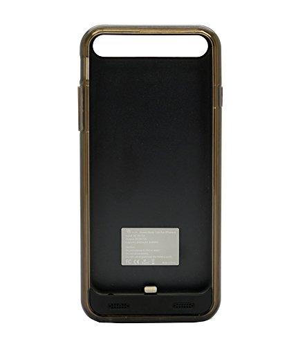 Uunique powerbank case met twee velgen voor iPhone 6/6S - zwart