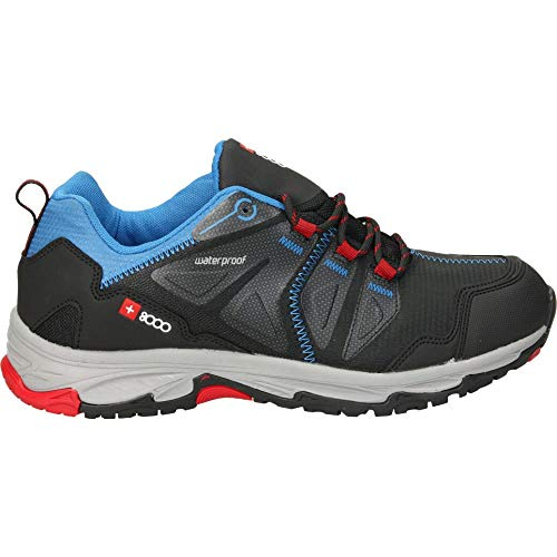 J.SMITH Chaussures de randonnée pour Homme + 8000 Trader - Noir - Noir, 46 EU EU