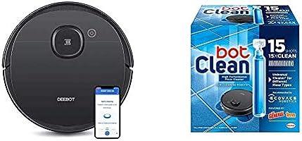 Ecovacs DEEBOT OZMO 950, Saug-& Wischroboter 2-in-1 mit Alexa und Appsteuerung, 66 Dezibel + botClean...