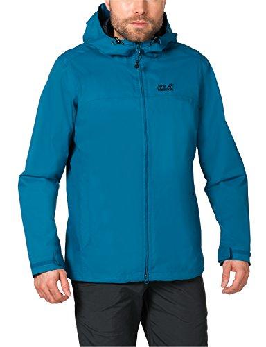 Jack Wolfskin Herren Wetterschutzjacke Arroyo Jacket, Dark Turquoise, XL