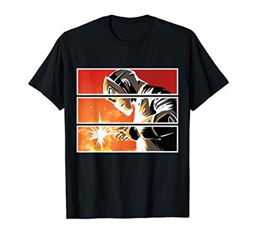 Soldador Ilustración de soldadura Soldador orgulloso Camiseta