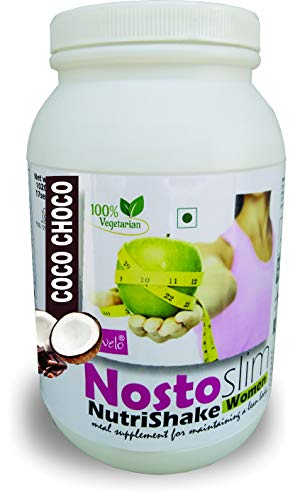 DEVELO NOSTOSLIM PROTEIN SUPPLEMENT POWDER FAT BURNER WEIGHT LOSS SLIMMING PRODUCT FOR WOMEN GIRLS COCO-CHOCO 1020G