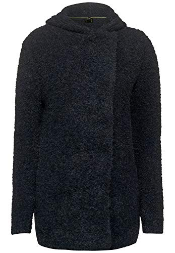 Cecil Damen Asymmetrischer Indoor-Mantel Graphit Grey Melange M