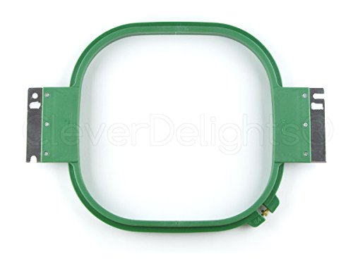 "Embroidery Hoop - 24cm (9.4"") - 360mm Wide (14.2"") - for Tajima Toyota and PRO Commercial Embroidery Machines - Double Height Hoops"