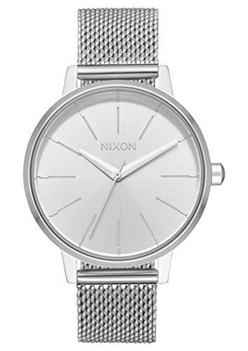 Nixon Damen Analog Quarz Smart Watch Armbanduhr mit Edelstahl Armband A1229-1920-00