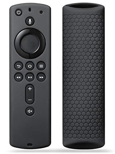 SYMOTOP - Funda de silicona para mando a distancia de TV Stick 4K/Fir TV Cube/Fir TV (3ª generación), a prueba de golpes,...