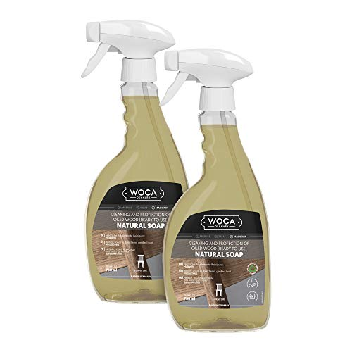 Woca Soap, Natural Ready To Use Spray For Everyday Maintenance - 2 Pack