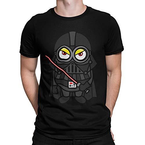 Camiseta Premium, Negra - Minions Vader (M Negra)