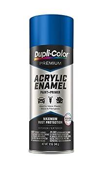 Dupli-Color EPAE10500 Premium Acrylic Enamel Spray Paint  PAE105 Gloss Royal Blue 12 oz  12 Fluid_Ounces