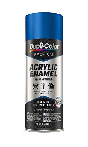 Dupli-Color EPAE10500 Premium Acrylic Enamel Spray Paint (PAE105 Gloss Royal Blue 12 oz), 12. Fluid_Ounces