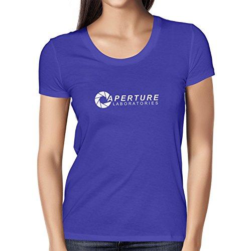 Nexxus Aperture Laboratories - Damen T-Shirt, Größe L, Marine