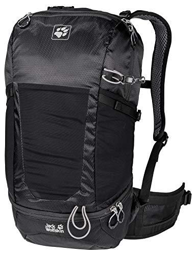 Jack Wolfskin Kingston 22 Pack Daypack Rucksack, Black, ONE Size