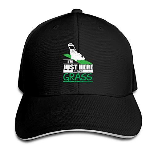 AUDNEDB Divertido cortacésped cortacésped cortacésped gorra de béisbol hombres mujeres clásico deportes casual sol sombrero negro