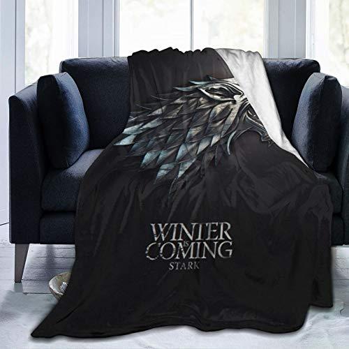 Juego de Tronos - Manta de franela de forro polar suave y cálida para sofá de bebé, para niños, adultos, hombres y mujeres, dormitorio interior 50