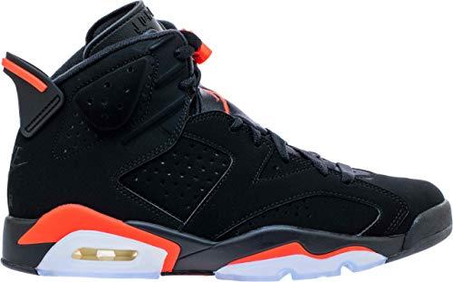 Jordan Herren 6 Retro Fitnessschuhe, Mehrfarbig (Black/Infrared 000), 47.5 EU