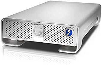 G-Technology 4TB G-DRIVE with Thunderbolt and USB 3.0 Desktop External Hard Drive, Silver - 0G03050
