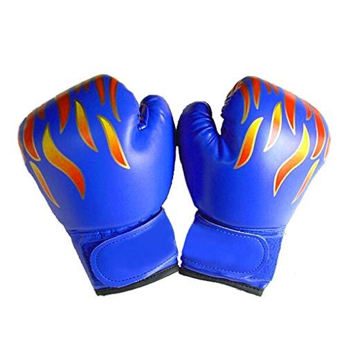 Luckiests Enfants Enfants Kickboxing Gants d'entraînement Punching Sandbag Sports de Combat MMA...