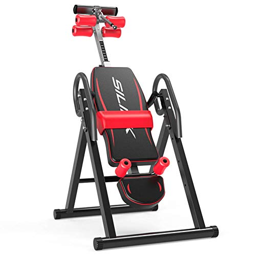 Read About BF-DCGUN Gravity Heavy Duty Inversion Table Invert Align Exercise Bench Reduce Back/Neck ...