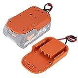 Power Wheels Adapter for Ridgid AEG 18V Hyper li-ion Battery Dock Power...