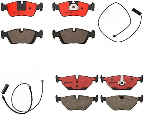 Front Rear 100% quality warranty! Ceramic Brake Pad Set Compatible with kit BMW 3 New item E36