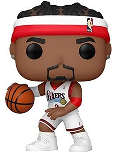 Funko- Pop NBA Allen Iverson (Sixers Home) (55215)