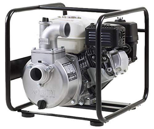 工進(KOSHIN) 4サイクル エンジンポンプ ハイデルスポンプ KH-50P 50mm(2インチ) ホンダエンジン搭載